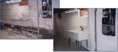 Buffalo Basement Waterproofing UTECH Waterproofing - Utech basement waterproofing
