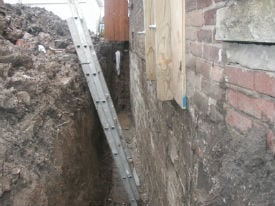 Buffalo, NY Basement Wall Repair Contractor
