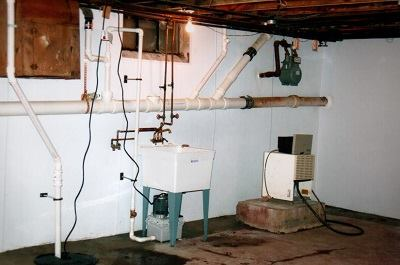 Interior Basement Waterproofing Gallery