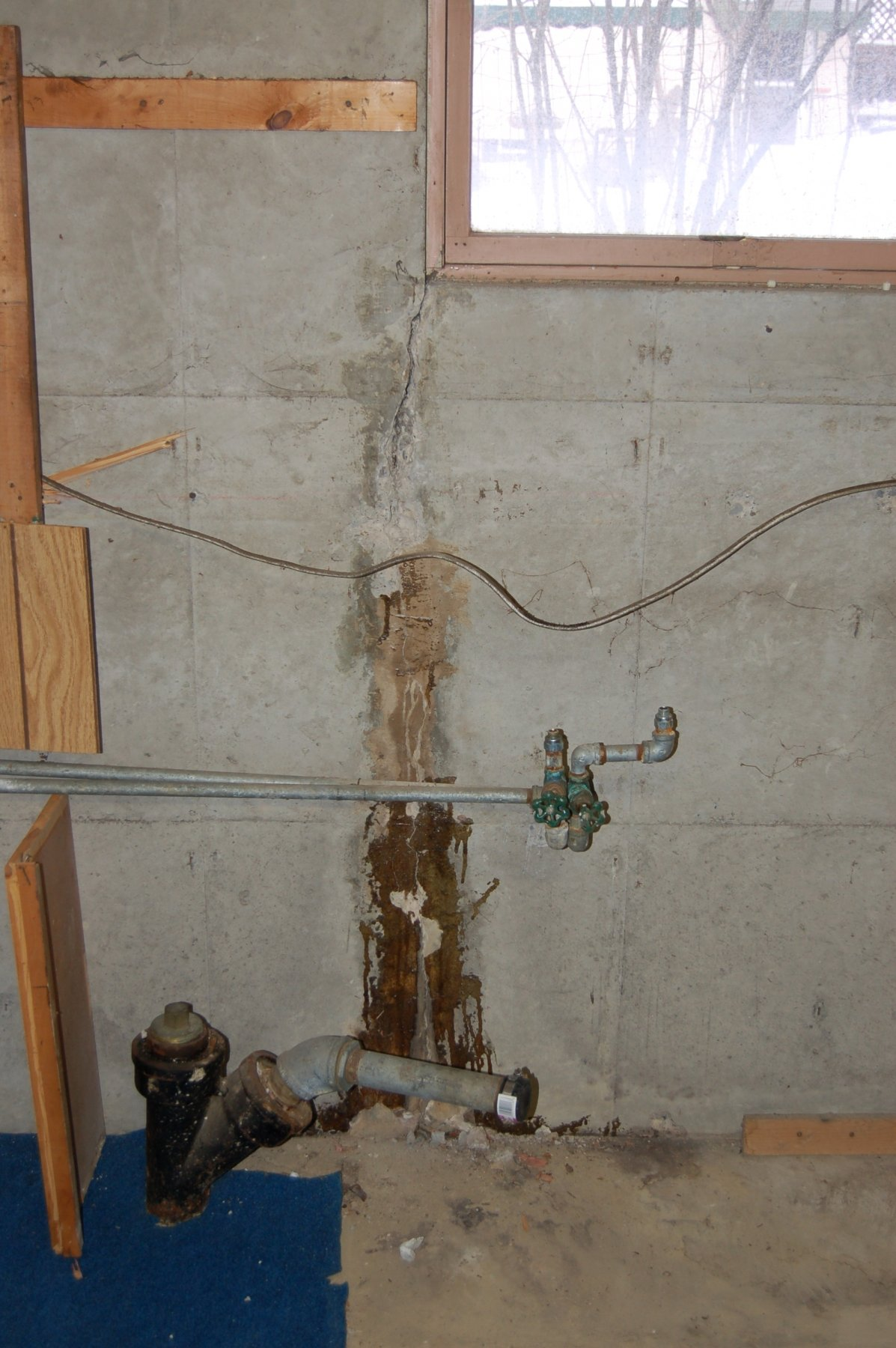 Williamsville, NY Wall Crack Repair