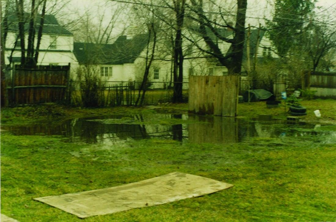 depew ny yard drainage