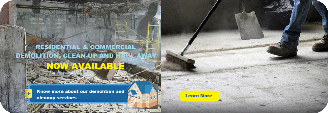 Residential and Commercial Cleanup