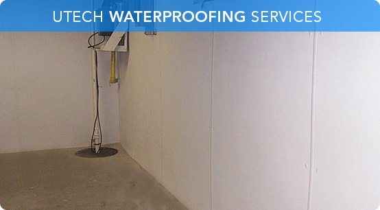 Great UTECH Basement Waterproofing | Quality And Service Guaranteed