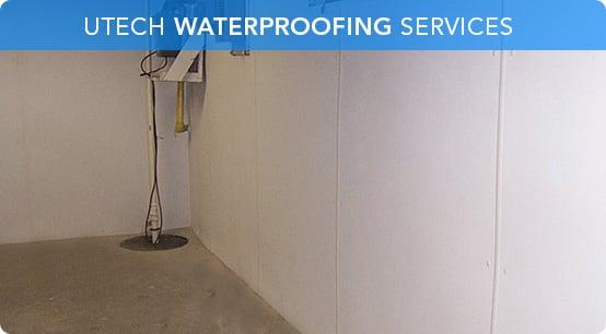 UTECH Basement Waterproofing | Quality And Service Guaranteed